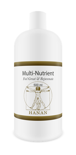 Hanan Multi-Nutrient (Feel Great & Rejuvinate) 500ML | Pairs Natural