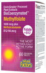 Natural Factors BioCoenzymated Methylfolate 60Vcaps