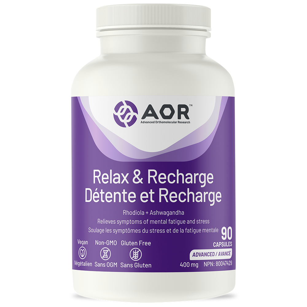 A.O.R. Relax & Recharge 90Vcaps