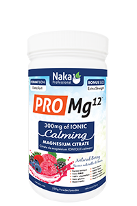 Naka Pro MG12 250g Mixed Berry Flavour