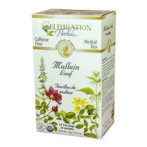 Celebration Herbals Mullein Leaf  Tea 24 bags