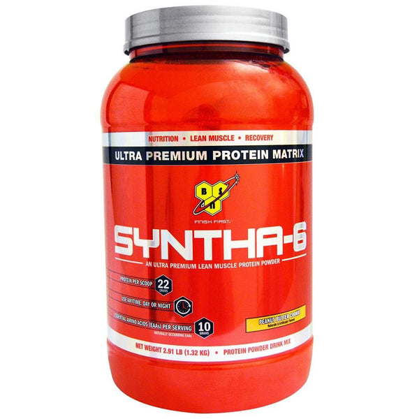 BSN Syntha-6 Whey Protein Matrix Chocolate Peanut Butter 2.91lbs