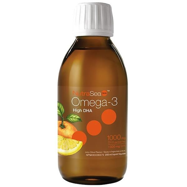 Ascenta NutraSea Omega-3 High DHA Juicy Citrus 200ml