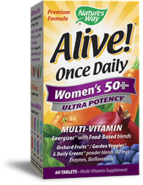 Nature's Way Alive Women's 50+ Multi 60Tablets