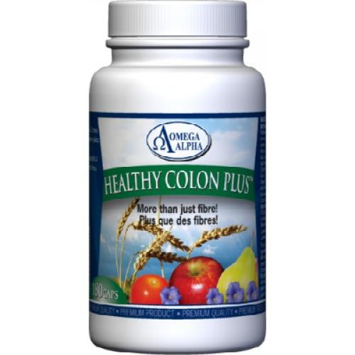 Omega Alpha Healthy Colon Plus 180Caps