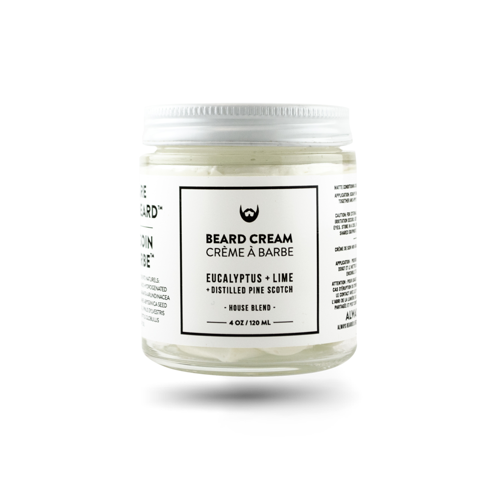 Always Beared Lifestyle Beard Cream Eucalyptus and Lime