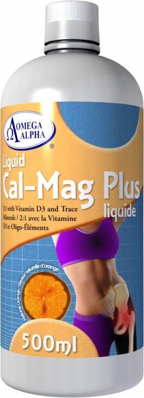 Omega Alpha MultiMin Cal-Mag Plus 500ML