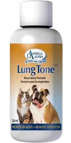 Omega Alpha Lung Tone 120ML