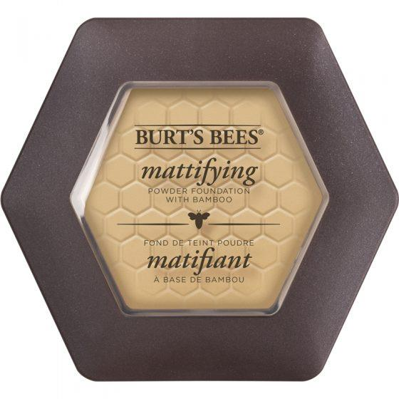 Burt's Bees Vanilla - 1110 Mattifying Powder Foundation