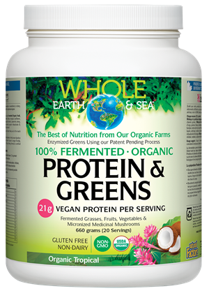 Whole Earth and Sea Fermented Protein and Greens - Tropical