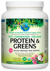 Whole Earth and Sea Fermented Protein and Greens