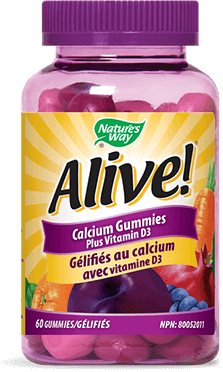 Nature's Way Alive! Calcium Gummies 60s