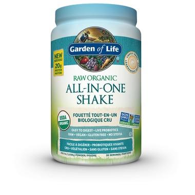 Garden of Life Raw Organic All-in-One Nutritional Shake Lightly Sweetened 2LB