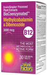 Natural Factors Methyldibencozibe 30T
