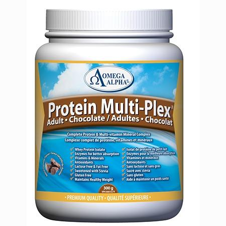 Omega Alpha Protein MultiPlex Chocolate