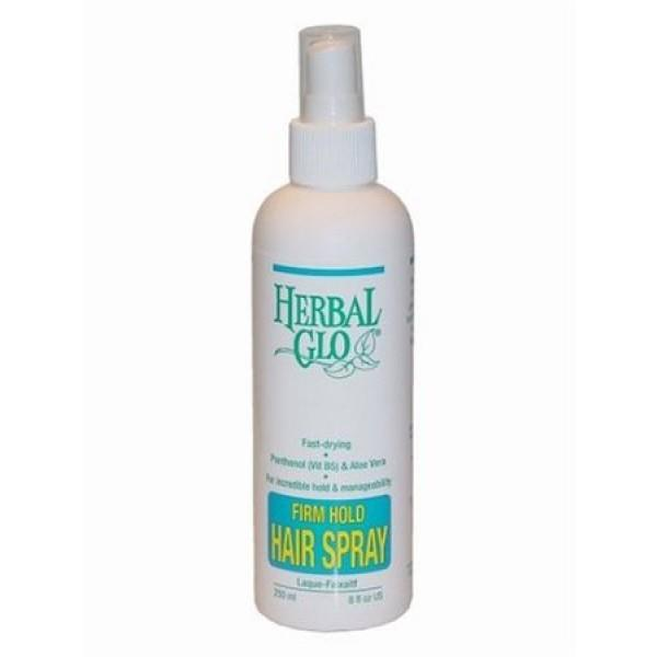Herbal Glo Firm Hold Hair Spray