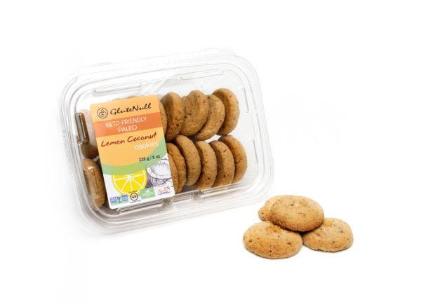 Glutenull Lemon Coconut Cookies  220G