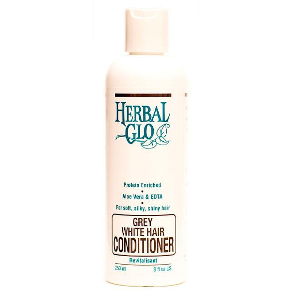 Herbal Glo Grey/White Hair Conditioner 250ml