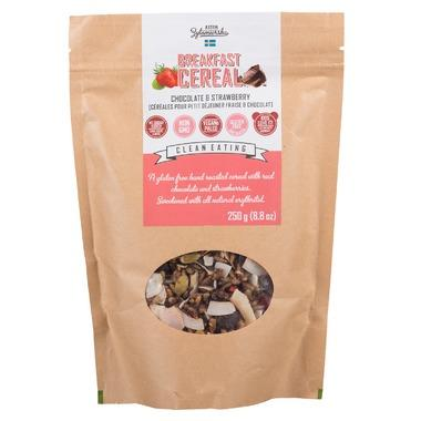 KZ Clean Eating Breakfast Cereal Chocolate and Strawberry 250G