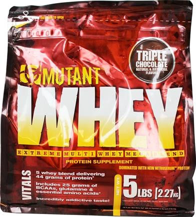 Mutant Whey Triple Chocolate 5lbs