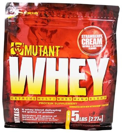 Mutant Whey Strawberry 5lbs