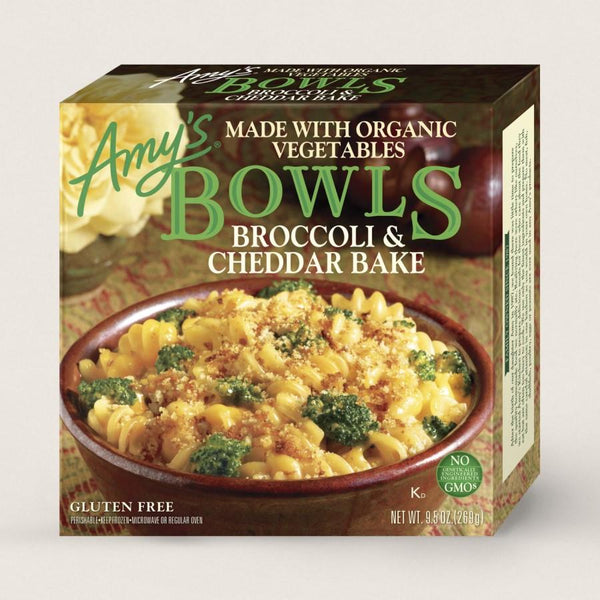 Amy's Bowls Broccoli and Cheddar Bake Bowl