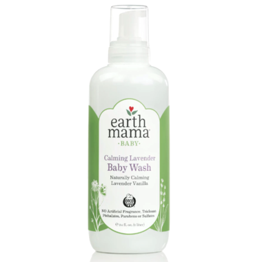 Earth Mama Organics Baby Calming Lavender Wash 180ML