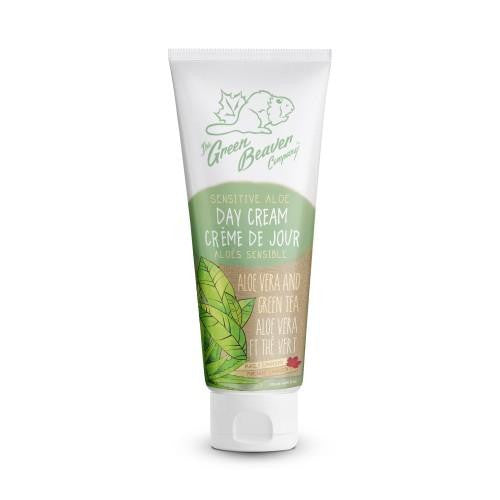 Green Beaver Sensitive Aloe Day Cream 120ml