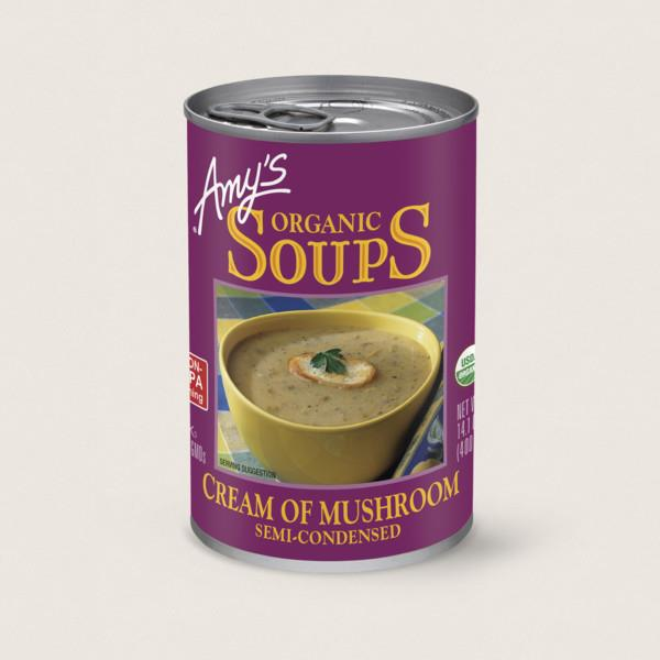 Amy's Organic Cream of Mushroom Soup 398ml