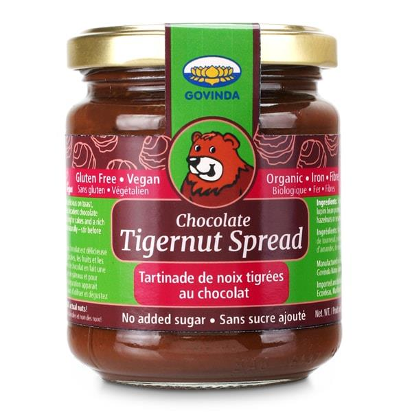 Govinda Creamy Chocolate Tigernut Spread 220G