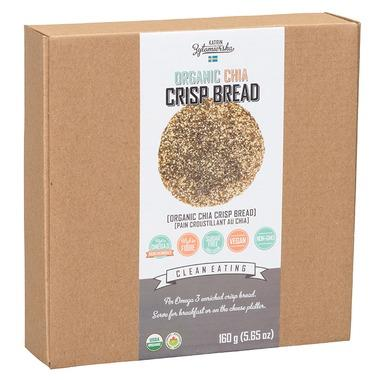 KZ Clean Eating Organic Chia Crisp Bread 160G