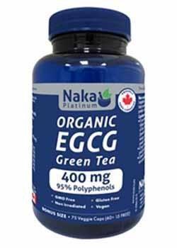 Naka Organic EGCG Green Tea 400mg