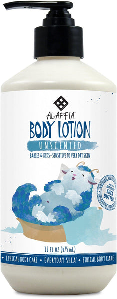 Alaffia Babies & Kids Shea Lotion-Unscented