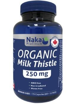 Naka Organic Milk Thistle 250mg