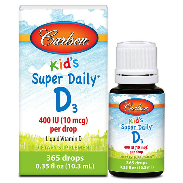 Carlson SUper Daily D3 Kinds