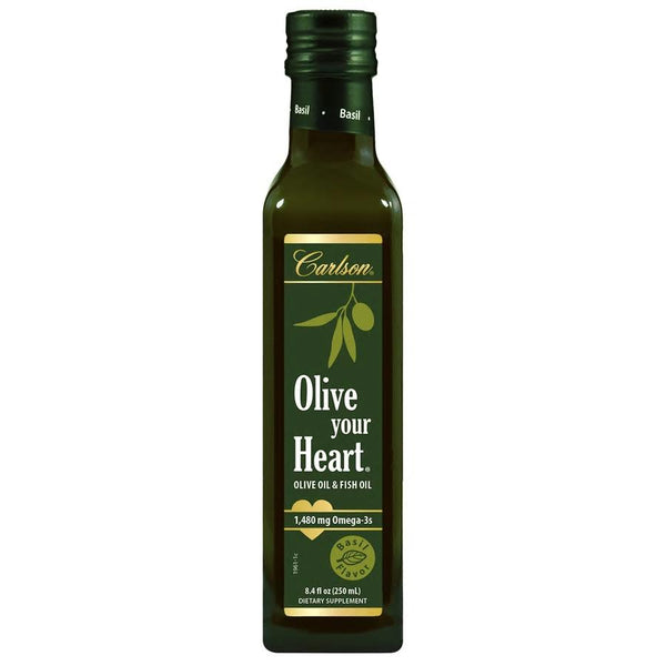Olive Your Heart Olive Oil - Basil Flavour 250ml