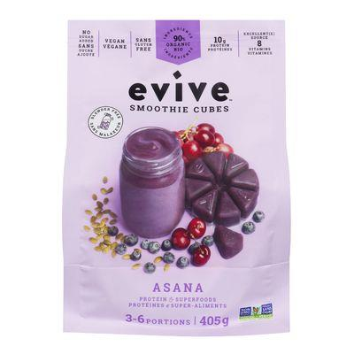 Evive Asana Smoothie Cubes 405G