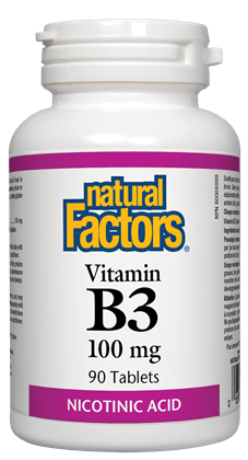 Natural Factors B-3 90Tabs