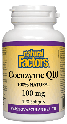Natural Factors Coenzyme Q10 100MG 60S