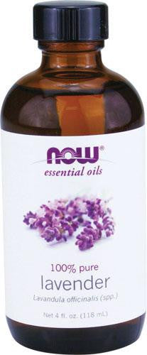 NOW LAVENDER 100% PURE ESSENTIAL OILS 120ML