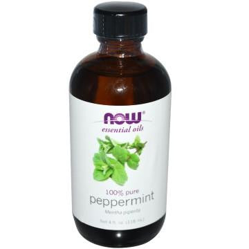 NOW PEPPERMINT 100% PURE ESSENTIAL OIL 118ML