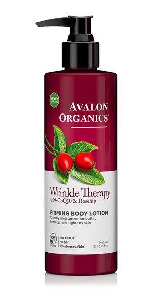 Avalon Organics Wrinkle Therapy Co Q10 & Rosehip Body Lotion 227g