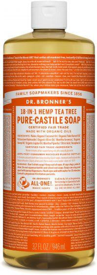 Dr. Bronner Pure-Castile Liquid Soap 946ml