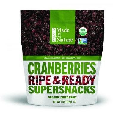 Made In Nature Organic Dried Plums 170G