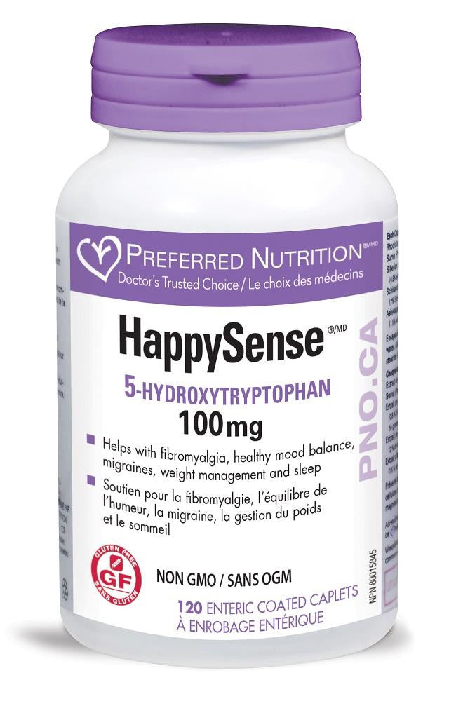 PREFERRED NATURALS HappySense 100mg 120caps*