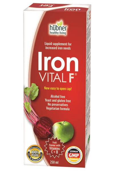 HUBNER IRONVITAL F 250ML