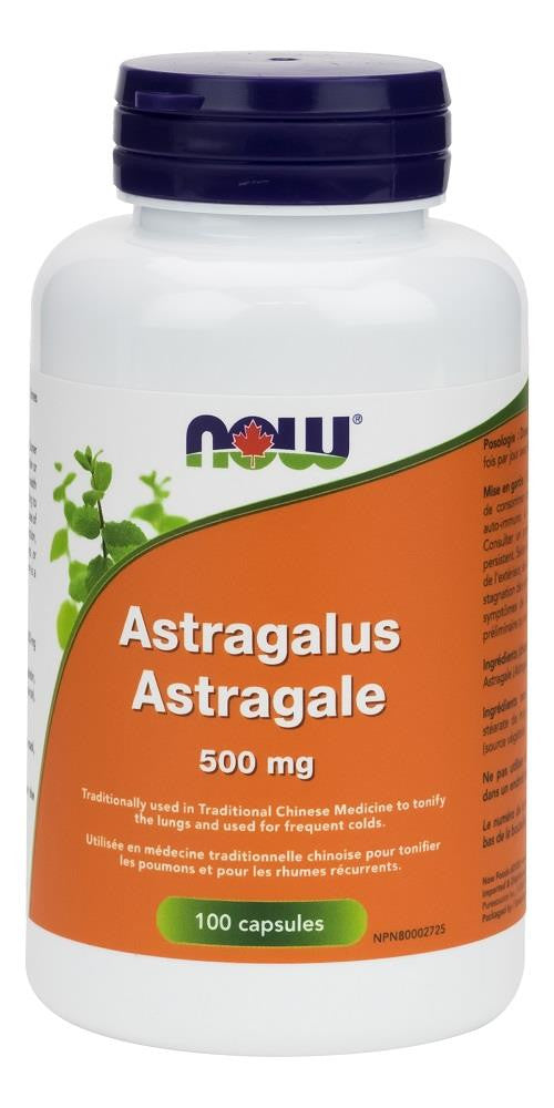 NOW Astragalus 500MG 100Caps