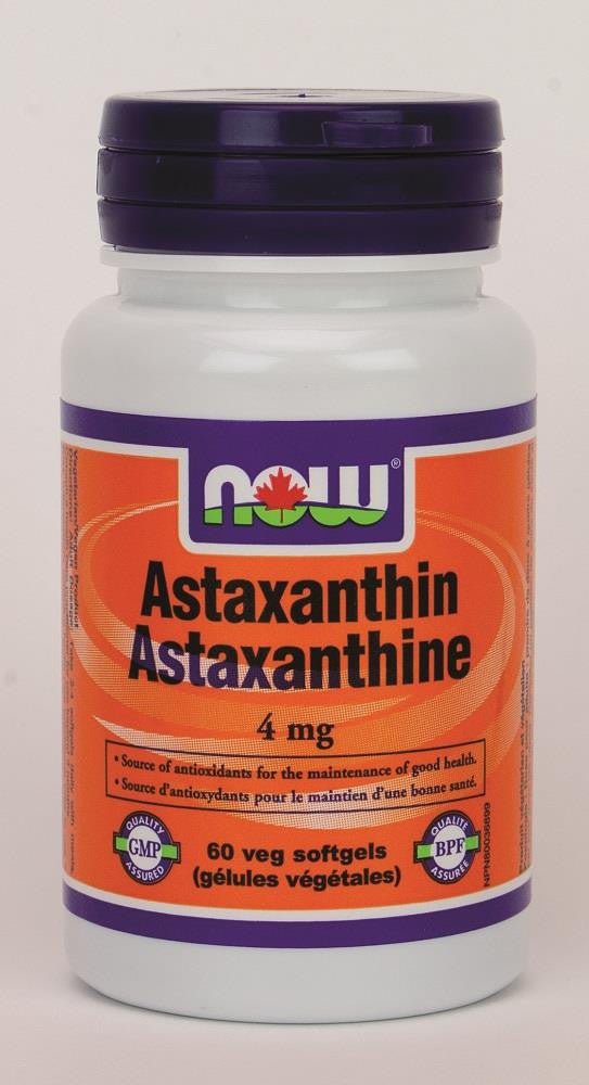 NOW Astaxanthin 4MG 60Softgels