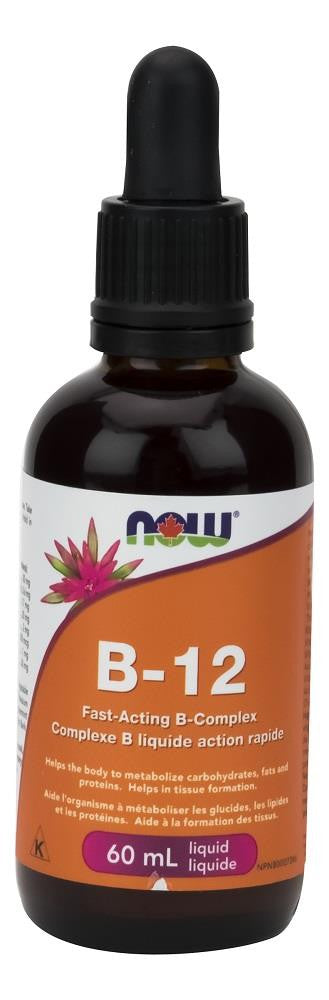 NOW Vitamin B-12 60ml