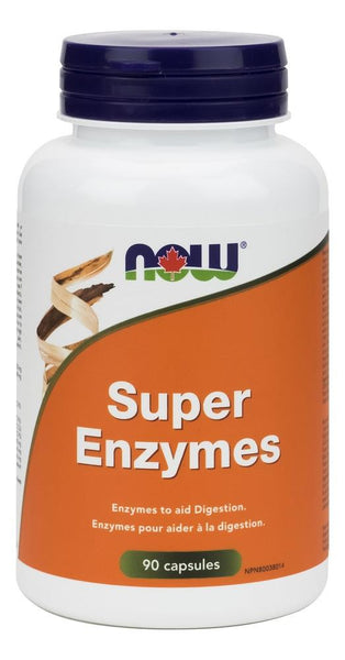 NOW SUPER ENZYMES 90 CAPSULES